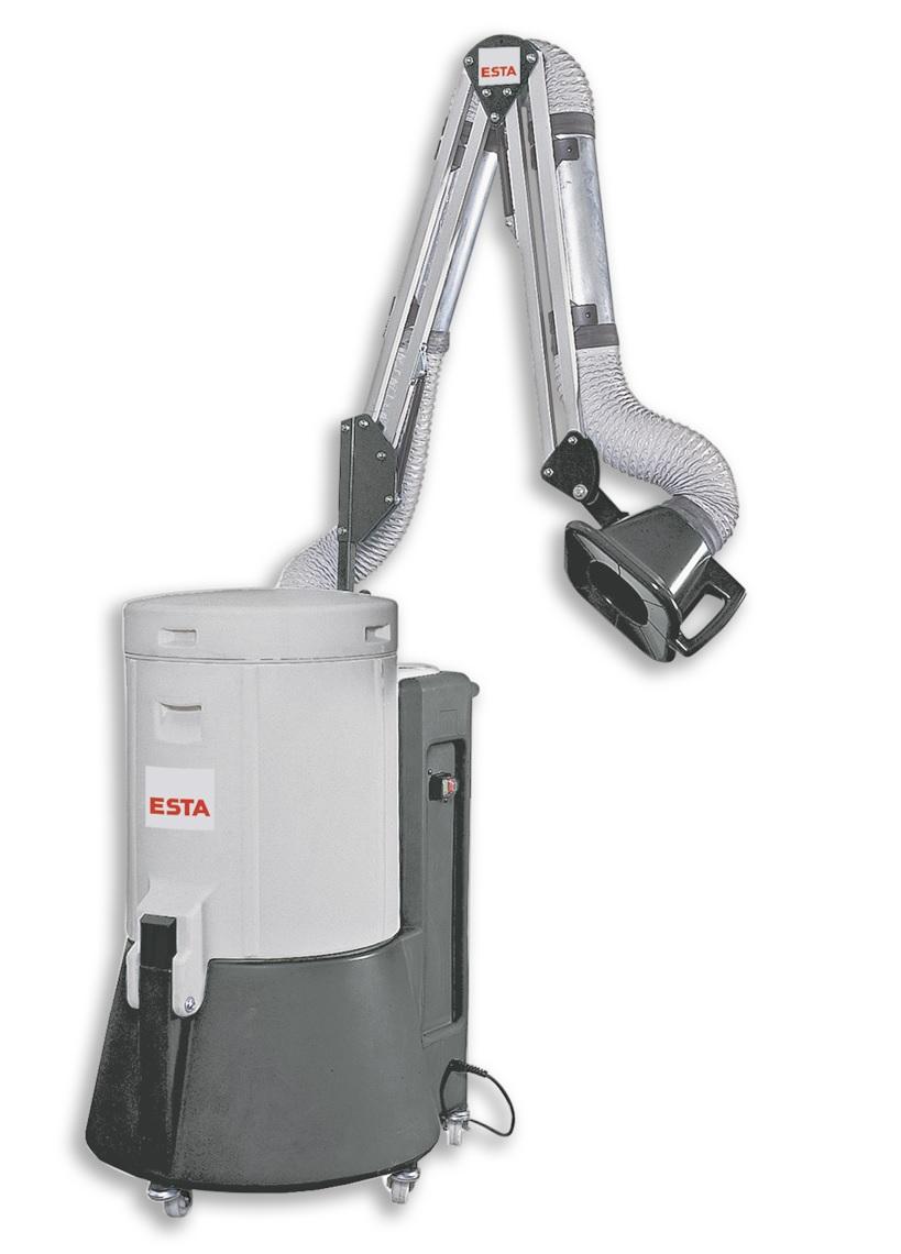 Mobile Schweißrauch- filter